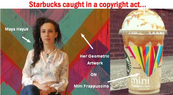 Starbucks copyright case