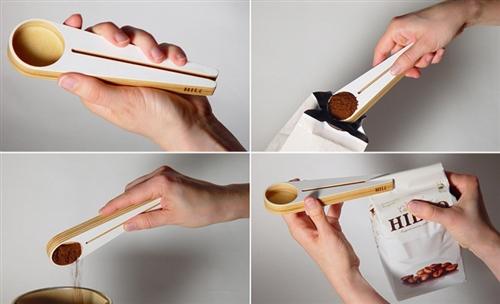 Coffee Bag Closer Scoop