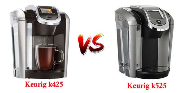 Keurig K425 vs Keurig K525 Coffee Maker Comparison