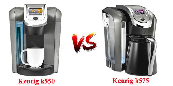 Keurig k550 vs k575